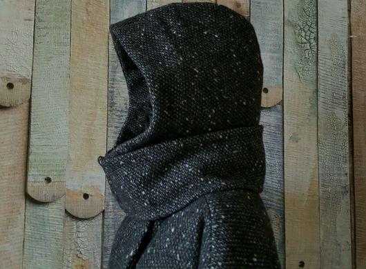 Верхняя одежда ручной работы. Ярмарка Мастеров - ручная работа. Купить Зимнее пальто со съемным капюшоном.. Handmade. Шерсть
