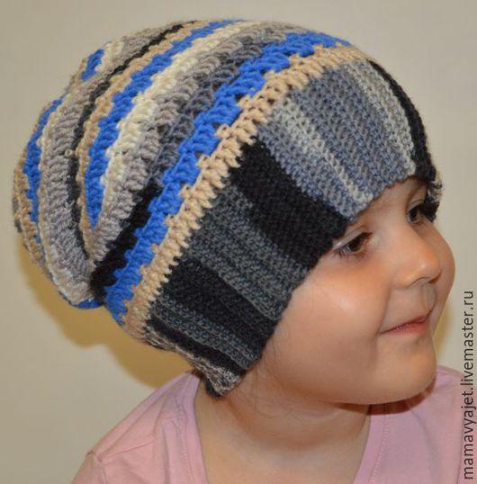 Шапки и шарфы ручной работы. Ярмарка Мастеров - ручная работа. Купить шапочка для мальчика бини,шапка с помпоном, шапка колпак, шапка гном. Handmade.