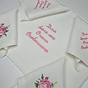 Для дома и интерьера handmade. Livemaster - original item Linen table textiles. Handmade.