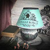 Для дома и интерьера handmade. Livemaster - original item Table lamp