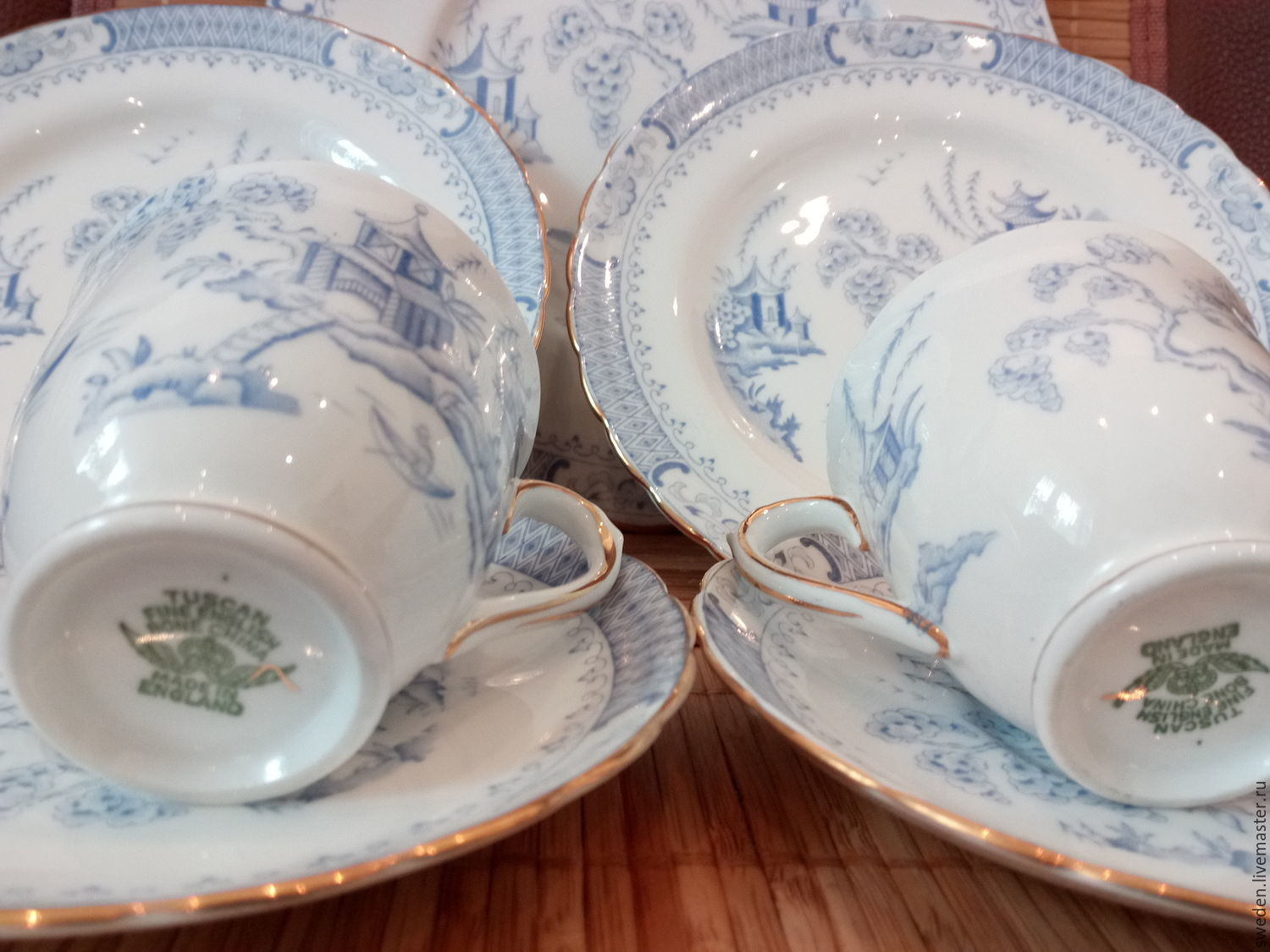 Order RARE porcelain. Trio Royal TuscanEngland. GERMESGEMS. & RARE porcelain. Trio Royal TuscanEngland u2013 shop online on ...