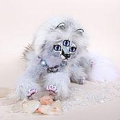 Куклы и игрушки ручной работы. Ярмарка Мастеров - ручная работа Тотемная трехглазая лиса Куура. Handmade.