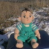 """Куклы и игрушки ручной работы. Ярмарка Мастеров - ручная работа Кукла вязаная """"Карапуз"""". Handmade."""