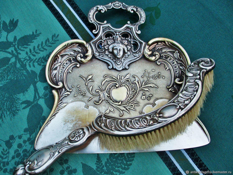 Винтаж: Старинный совок со щёткой для уборки Femme ХIХ век Франция, Кухонная утварь винтажная, Орлеан,  Фото №1