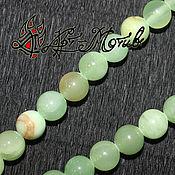 Материалы для творчества handmade. Livemaster - original item Calcite (marble onic), 10 mm smooth beads (natural stone). Handmade.