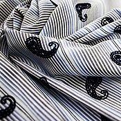 Fabric handmade. Livemaster - original item Cotton shirt Etro art. 31.0002. Handmade.