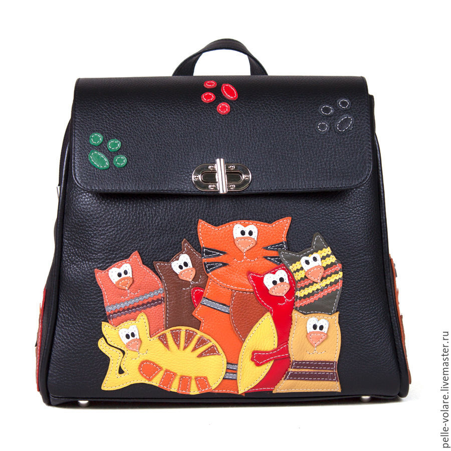 Backpack 'Gang of cats', Backpacks, St. Petersburg,  Фото №1