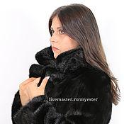 Одежда ручной работы. Ярмарка Мастеров - ручная работа Норковая шуба BLACKGLAMA 90 см. Handmade.