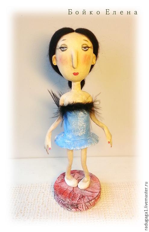 Коллекционные куклы ручной работы. Ярмарка Мастеров - ручная работа. Купить Лебединая песня. Handmade. Голубой, прима, бойко елена