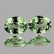 Материалы для творчества handmade. Livemaster - original item Sapphire green 5h4mm., natural VVS. Handmade.