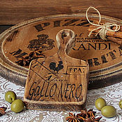 Для дома и интерьера handmade. Livemaster - original item Cheese cutting Board from little elm