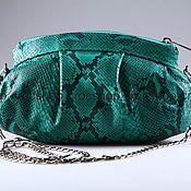 Сумки и аксессуары handmade. Livemaster - original item Bag made from Python IMP0526S. Handmade.
