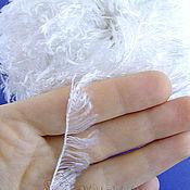 Материалы для творчества ручной работы. Ярмарка Мастеров - ручная работа Пряжа белая для вязания мишек Тедди и их друзей. Handmade.