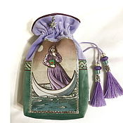 Фен-шуй и эзотерика handmade. Livemaster - original item Alchemist Tarot Bag 14h20 cm.. Handmade.