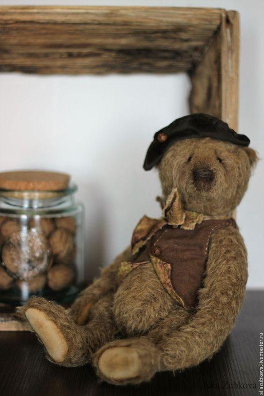 Мишки Тедди ручной работы. Ярмарка Мастеров - ручная работа. Купить Mr. Walnut II. Handmade. Коричневый, предмет декора