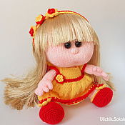 Куклы и игрушки ручной работы. Ярмарка Мастеров - ручная работа Кукла-пупс Снежана. Handmade.
