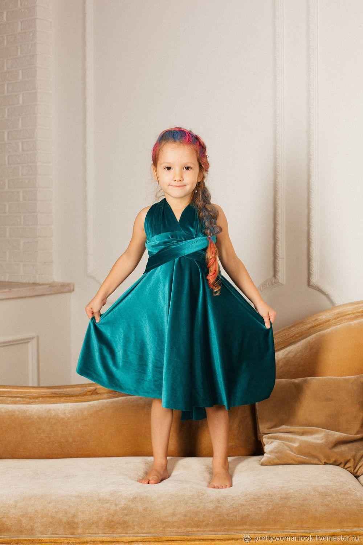 Платье-трансформер детский, Платья, Москва,  Фото №1