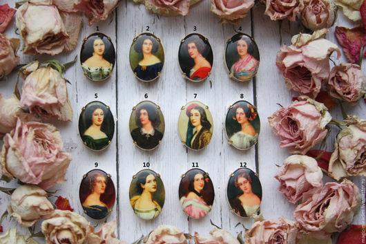 Для украшений ручной работы. Ярмарка Мастеров - ручная работа. Купить Винтажные стразы - Victorian  Ladies. Handmade. Винтаж