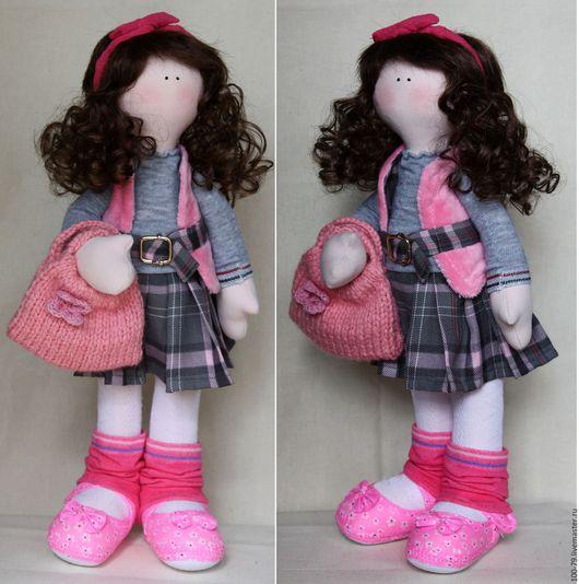 Человечки ручной работы. Ярмарка Мастеров - ручная работа. Купить Интерьерная кукла.Текстильная кукла.. Handmade. Игрушка ручной работы