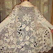 Одежда ручной работы. Ярмарка Мастеров - ручная работа Кружевной кардиган. Handmade.