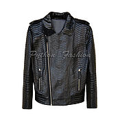 Одежда handmade. Livemaster - original item The jacket of Python LYRA. Handmade.