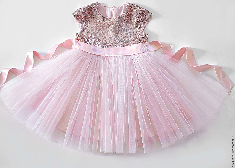 Паетки на детское платье