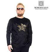 Мужская одежда handmade. Livemaster - original item Sweatshirt