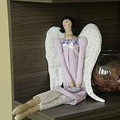 """Куклы и игрушки ручной работы. Ярмарка Мастеров - ручная работа кукла тильда """"Ангел Шелли"""". Handmade."""