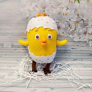 Куклы и игрушки ручной работы. Ярмарка Мастеров - ручная работа Цыпленок Комо. Handmade.