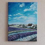 Картины и панно ручной работы. Ярмарка Мастеров - ручная работа Прованский пейзаж. Handmade.
