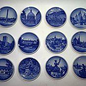 Винтаж handmade. Livemaster - original item Miniature plates Denmark. Handmade.