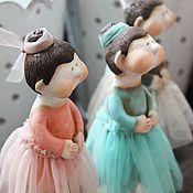 """Куклы и игрушки ручной работы. Ярмарка Мастеров - ручная работа Кукла-Кулема """"Балерина"""". Handmade."""