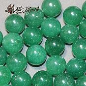 Материалы для творчества handmade. Livemaster - original item Aventurine bead is 10mm (natural stone). Handmade.