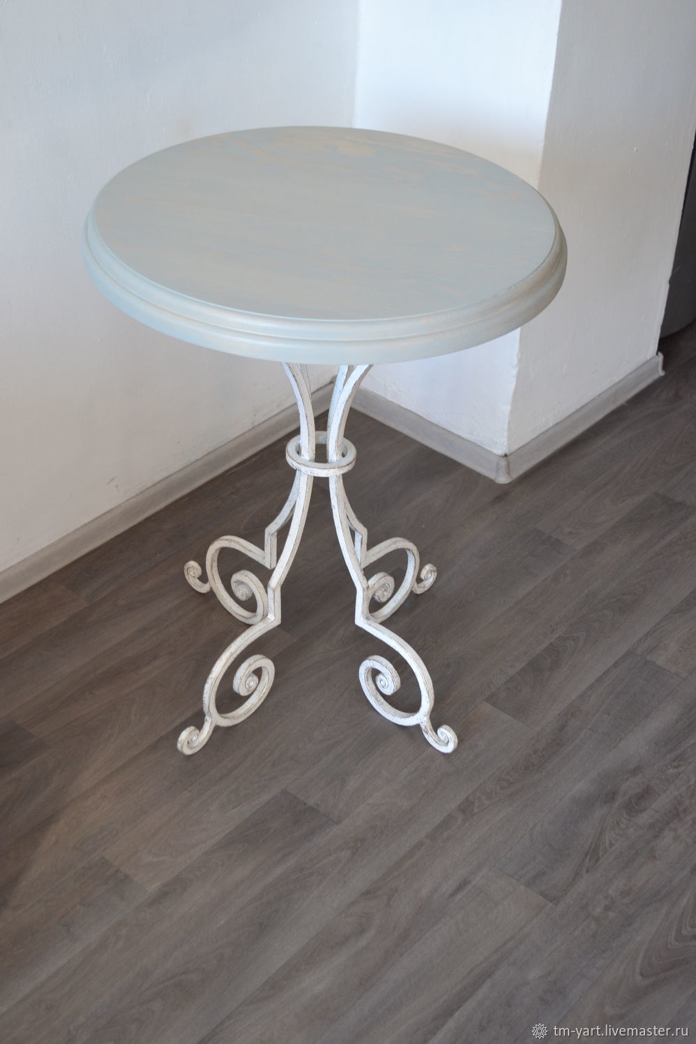 Wrought iron table ' LAVENDER', Tables, Barnaul,  Фото №1