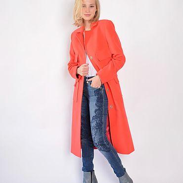 Одежда ручной работы. Ярмарка Мастеров - ручная работа Пальто кашемировое Corallo. Handmade.