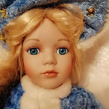 Куклы и игрушки ручной работы. Ярмарка Мастеров - ручная работа Кукла для творчества Снегурочка. Handmade.
