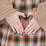 Одежда ручной работы. Ярмарка Мастеров - ручная работа Очень очень теплая юбка. Handmade.
