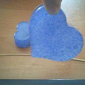 Косметика ручной работы. Ярмарка Мастеров - ручная работа голубое сердце. Handmade.