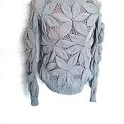 """Одежда ручной работы. Ярмарка Мастеров - ручная работа Авторский пуловер """"Milky"""". Handmade."""