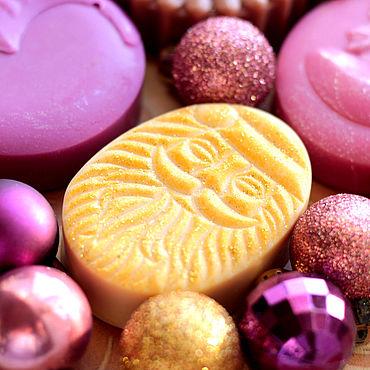 Косметика ручной работы. Ярмарка Мастеров - ручная работа Новогодний подарочный набор мыла. Handmade.