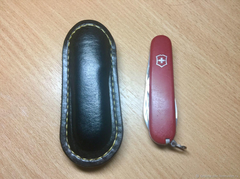 Чехол кожаный для ножа VICTORINOX, Чехол, Воскресенск,  Фото №1