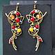 Metropolis Earrings, Earrings, St. Petersburg,  Фото №1