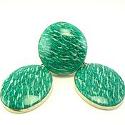 Украшения handmade. Livemaster - original item Earrings and ring amazonite. green earrings and a ring. Handmade.