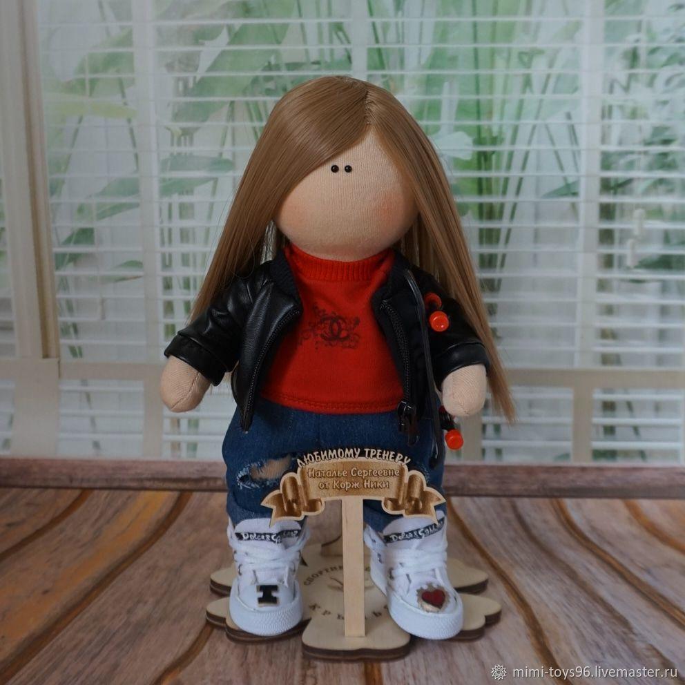 Портретная кукла тренера, Портретная кукла, Верхняя Пышма,  Фото №1