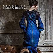 Одежда ручной работы. Ярмарка Мастеров - ручная работа Валяное платье Diti. Handmade.