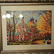 Картины и панно ручной работы. Ярмарка Мастеров - ручная работа Донской монастырь. Handmade.