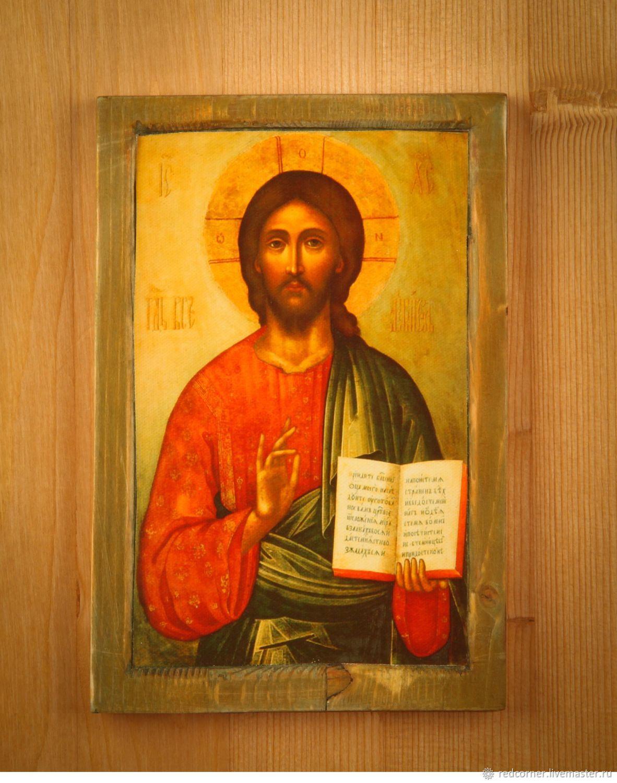 Икона Христос Вседержитель, Иконы, Томск, Фото №1