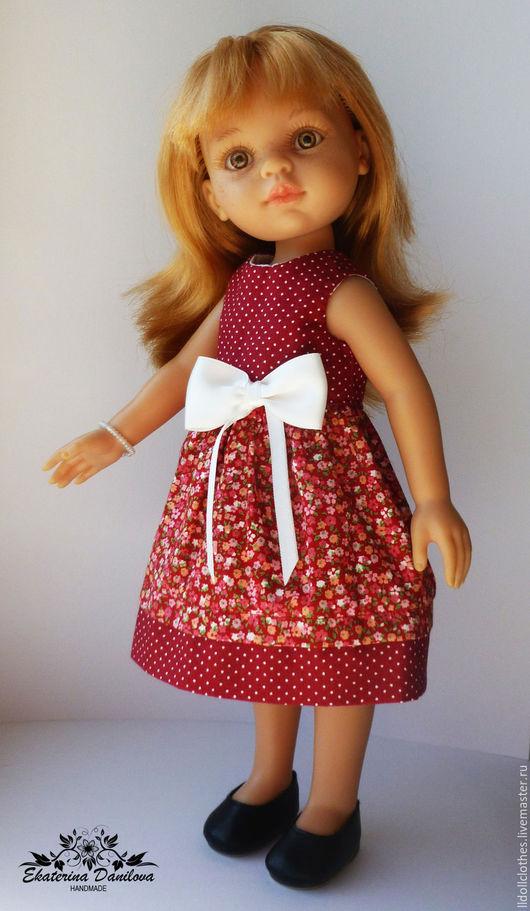 Одежда для кукол ручной работы. Ярмарка Мастеров - ручная работа. Купить Продано Платье для куклы Paola Reina. Handmade. Комбинированный