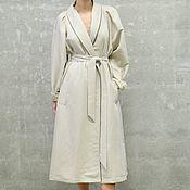 Одежда ручной работы. Ярмарка Мастеров - ручная работа Платье -пальто женское Rennessance. Handmade.