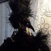 Куклы и игрушки handmade. Livemaster - original item Prince-Raven, a poseable doll. Handmade.